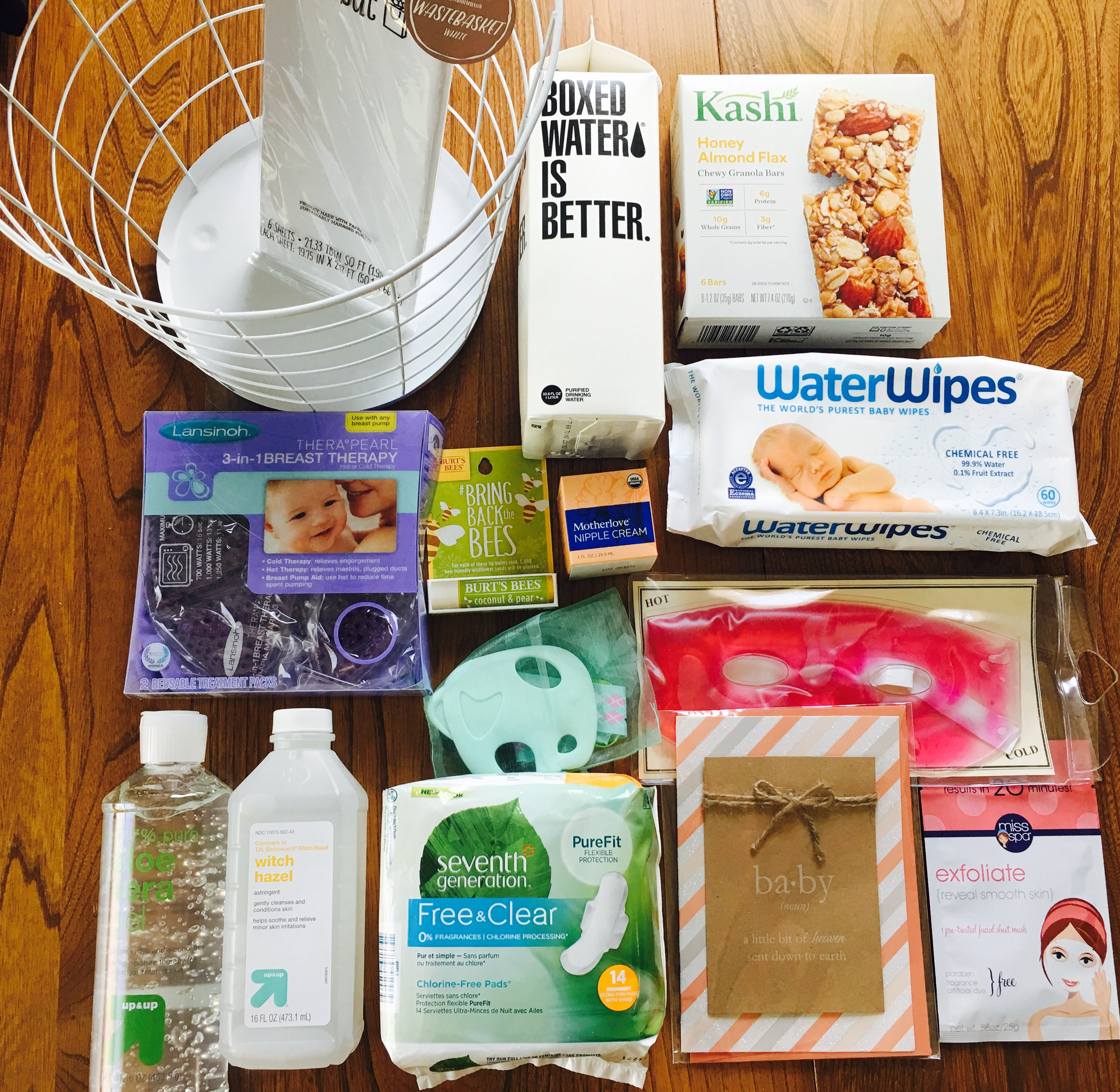 Image result for postpartum recovery kit